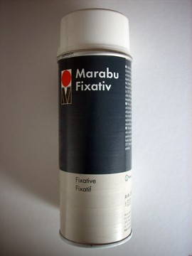 Fixativ - Marabu fixáló spray 150ml, 400ml