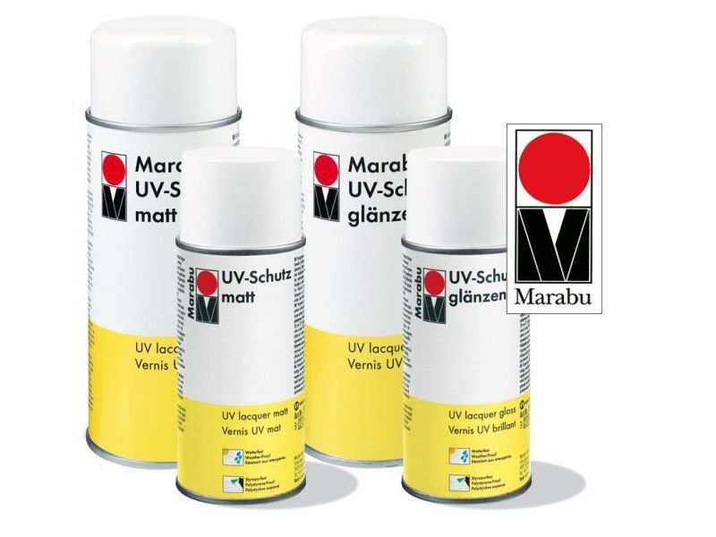 Lakk - Marabu UV-védőlakk spray 400ml