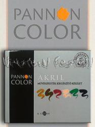 Akrilfesték készlet - Pannoncolor Művész alapkészlet 6x22ml