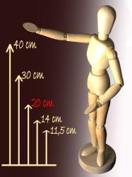 Modell Fabáb - 20cm-es