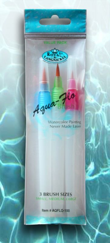 Aqua-Flo Brush Set - 3 pcs