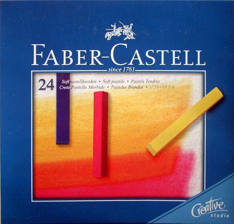 Porpasztell készlet - Faber-Castell Pasztellkréta készlet - 24db, egész