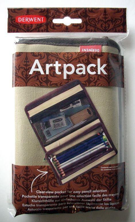 Ceruzatartó - Derwent Artpack - Kétzsebes (üresen)