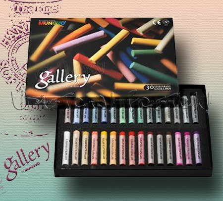Pasztell kréta készlet - Mungyo Gallery Soft pastels for artists