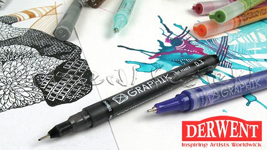 Filc - Derwent Graphik Line Painter - tűhegyű rajztoll