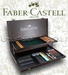Grafikai készlet - Faber-Castell Art & Graphic Pitt Monochrome Fadobozban