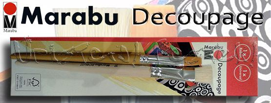 Ecsetkészlet - Marabu Decoupage vegyes – 2db-os
