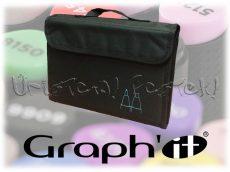 Filctartó - Graph'It 36 férőhelyes KITÁMASZTHATÓ (üresen) - fekete