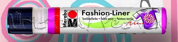 Textilfesték - Marabu Fashion-Liner 25ml-es kontúrozó