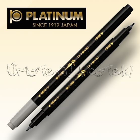 Filc - Platinum Japán DUPLA ecsetvégű tustoll