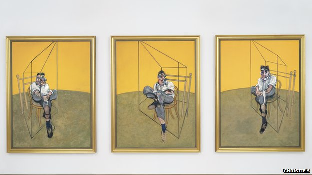 Francis Bacon: Tryptichon of Lucien Freud