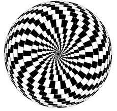 fekete-fehér spirál 1