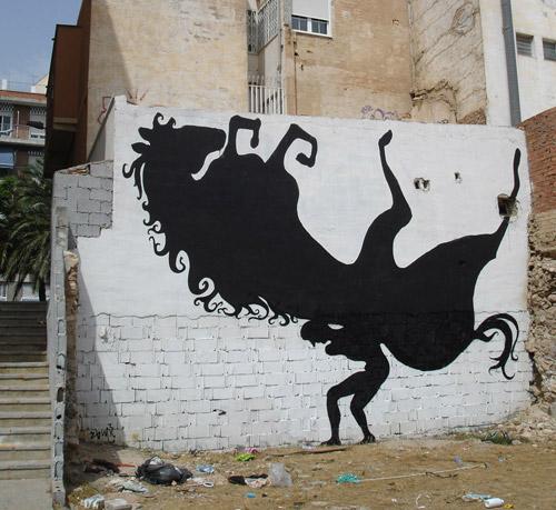 Ló graffiti