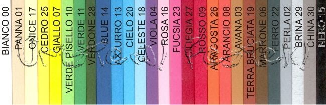Colour Chart - COPIC Marker and Refill