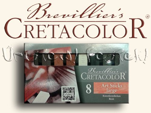 Pasztell kréta készlet - Cretacolor Art Sticks large - Earthtone