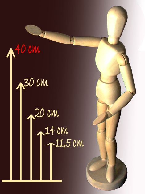 Modell Fabáb - 40cm-es