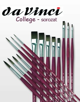 Brush - Da Vinci - College - synthetic, round, pointed - in different sizes!