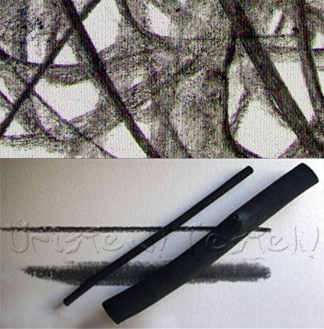 Charcoal thick 13-14 mm - HOLLÓ