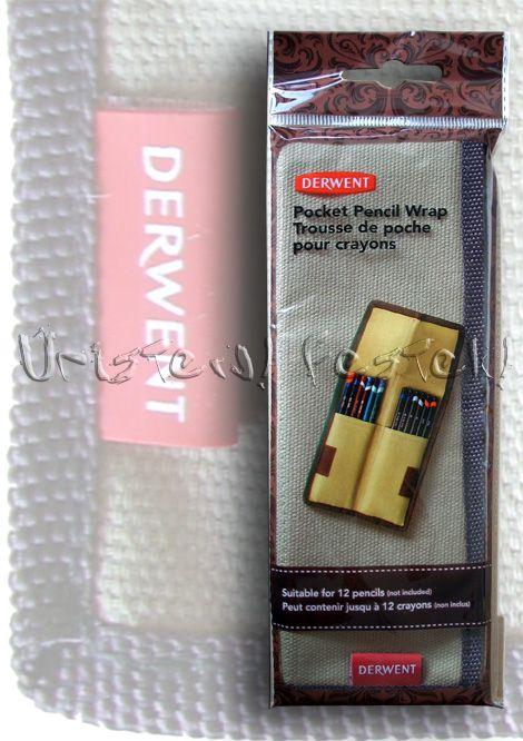 Brush Holder, Roll-Up, Linen