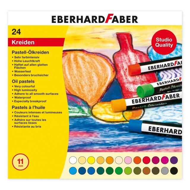 Olajpasztell készlet - EberhardFaber Pastell-Ölkreiden - KÜLÖNBÖZŐ KISZERELÉSEKBEN