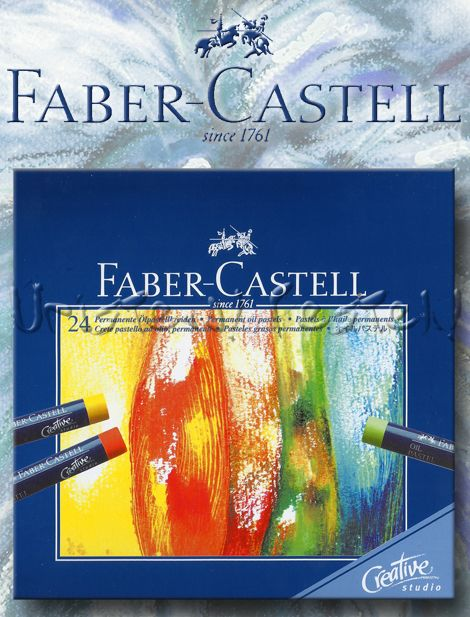 Oil Pastel Set - Derwent Academy - 24 pc