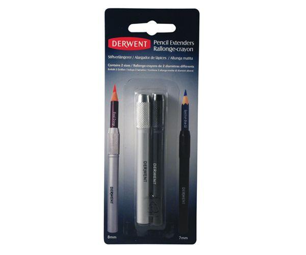 Pencil Extension Kit - Derwent 2 pcs - for different sized pencils