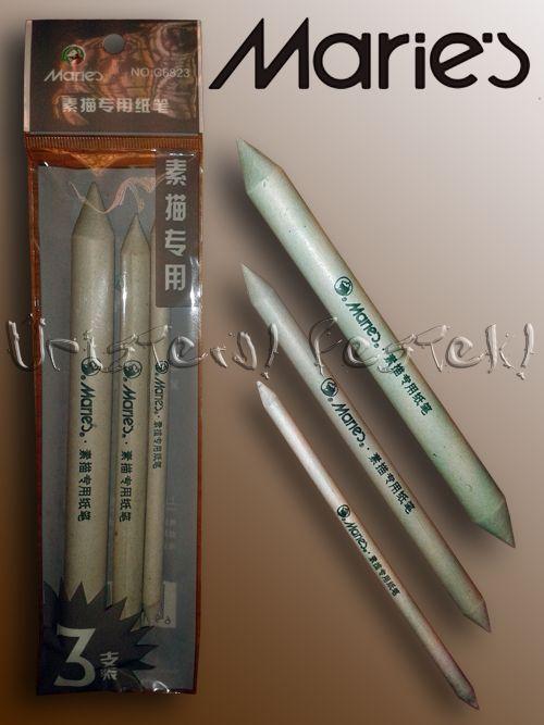 Ppaper pencil set - Derwent - 3 pcs, for charcoal, pastel