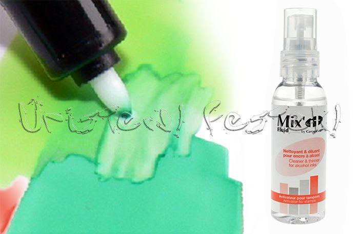 Oldószer - Mix'it liquid Graph'it kétvégű alkoholos dekorfilchez - 50ml - HAMAROSAN