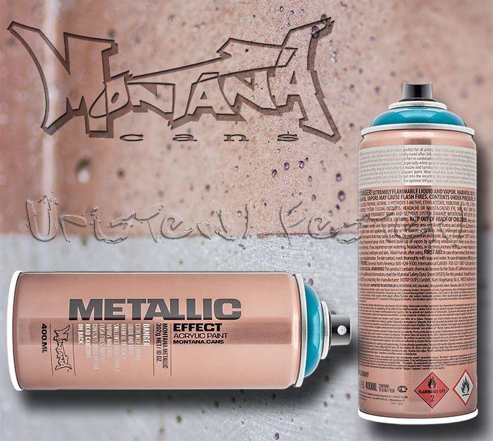 Montana Metallic Effect – festékszóró spray