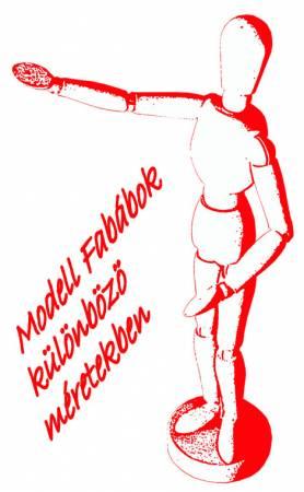 Szobrász modell fabábu