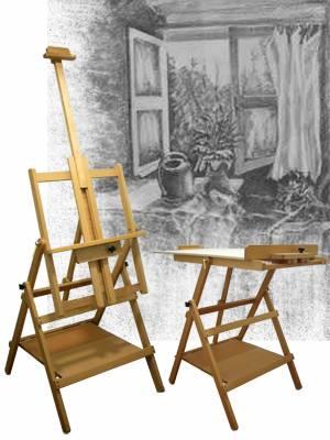 Műtermi festőállvány