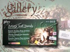 Soft pasztell készlet - Mungyo Gallery 12db