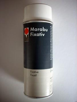 Fixativ - Marabu fixáló spray 150ml, 400ml
