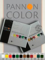 Acrylic Paint Kit - Pannoncolor Artist Paint, color mixer 5x22ml