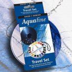 Akvarellfesték készlet, Daler-Rowney Aquafine Travel Set - 18 szín fémdobozban