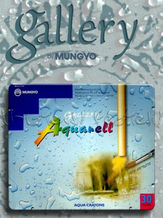 Akvarellkréta - Gallery Mungyo Aquarell - Vízzel elmosható viaszkréta