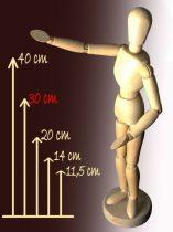 Wooden model figure - 30 cm