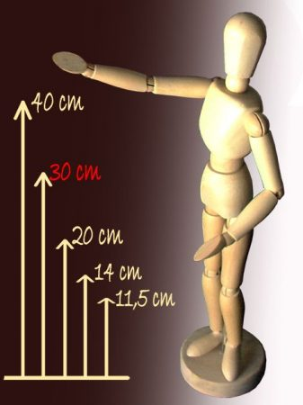 Modell Fabáb - 30 cm-es