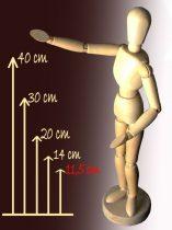 Wooden model figure - 11,4 cm