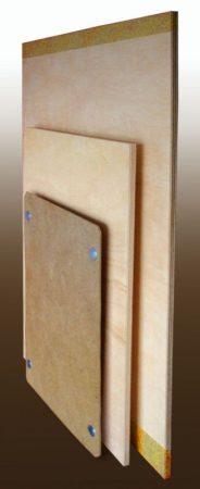 Rajztábla A/3 ívhez, 34*43cm*0,8cm rétegelt fenyő