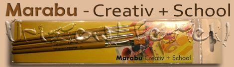Marabu Universal ecsetkészlet – 4db-os