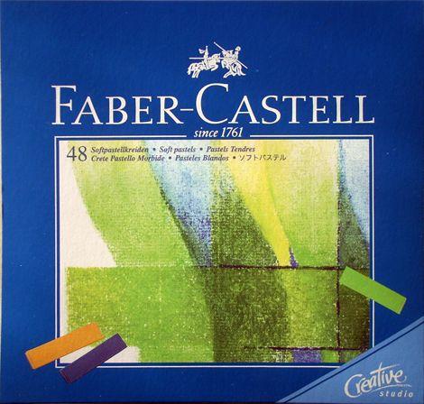 Soft Pastel Set - Faber-Castell 48 pc 1/2