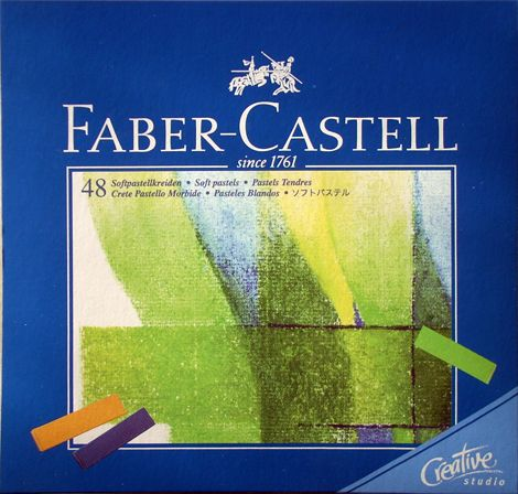 Porpasztell készlet - Faber-Castell Pasztellkréta készlet - 48db, feles