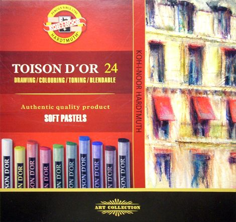 Soft Pastel Set - KOH-I-NOOR Toison D'OR Porpasztell Kit - DIFFERENT sizes!