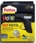 "Glue Gun Pattex ""Hobby"" Hot Pistol + 6pcs glue sticks"