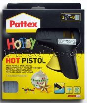 "Glue Gun Pattex ""Hobby"" Hot Pistol + 6pcs glue sticks"