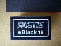 Factis Black - fekete radír grafithoz