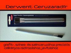 Radírceruza - ecsetvégű, Derwent 2db/csomag