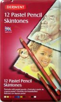 Pastel Set - Derwent Pastel Pencil SKINTONES - 12 pcs