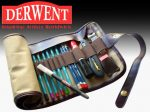 Ceruzatartó - Derwent összetekerhető, művész (üresen)